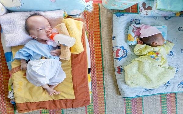 Viện thẩm mỹ DIVA tặng quà cho trẻ em mồ côi tại mái ấm Pháp Tánh 2