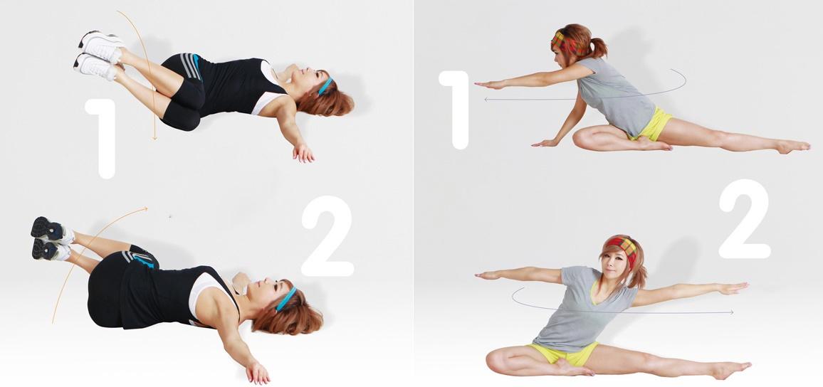 Cải thiện mỡ thừa với 4 bài tập giảm mỡ hai bên hông siêu tốc 2