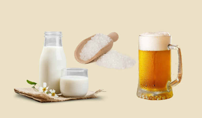 4 Cách tắm trắng bằng bia và sữa tươi đơn giản, hiệu quả